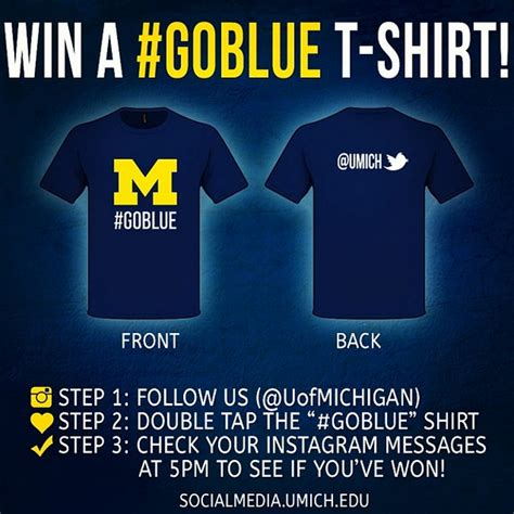 Social Media Giveaway - great social media idea instagram direct for giveaways social media for colleges