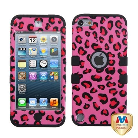 Soft Pink Leopard For Iphone 5c T0310 1 ipod touch 5g 5th pink leopard cheetah tuff hybrid soft silicone pink ipod