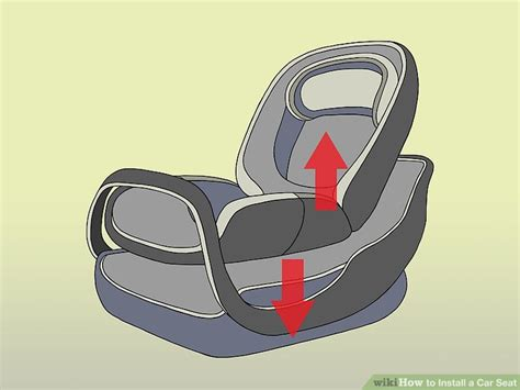 car seat steps 2 easy ways to install a car seat with pictures wikihow