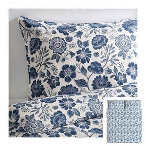 Linen Duvet Cover Ikea ikea angsort linen king duvet cover pillowcases set blue white floral 196 ngs 214 rt