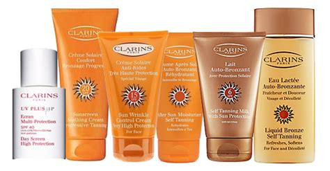 best clarins products summer skincare products by clarins scentsa