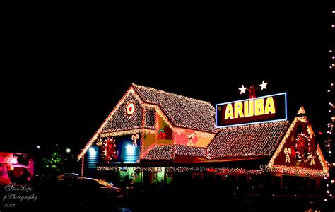 Aruba Beach Cafe Holiday Lights Photograph By Stanley Lupo Lights Ft Lauderdale