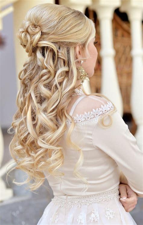 Brautfrisuren Lange Haare Halboffen Mit Schleier by Hochzeitsfrisur Mit Schleier Trends Ideen 2018