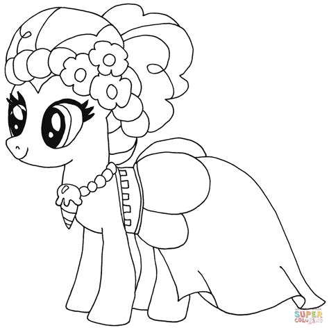 Pinkie Pie Coloring Page by Pinkie Pie Coloring Pages Www Pixshark