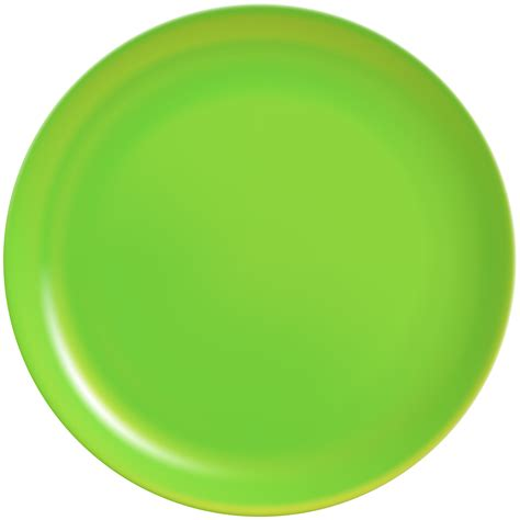 clipart png green plate png clip best web clipart