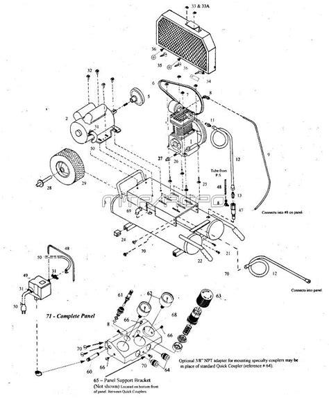 emglo mk15a 8p mk2a 8p air compressor parts