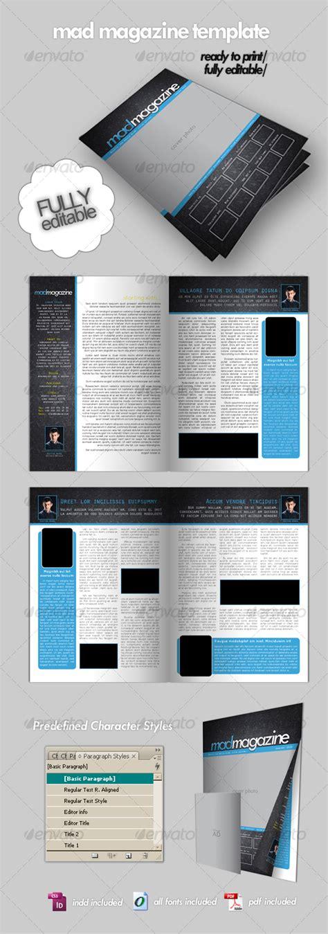 Magazine Template Print Ad Templates Magazine Ad Template