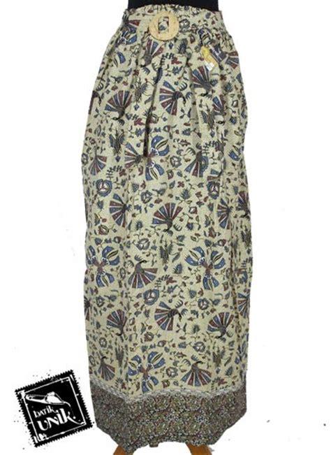 Merak Set Baju Murah rok panjang batik cantik motif burung merak bawahan