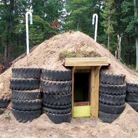 Design Your Own Earthbag Home how to build a root cellar and storm shelter farm and