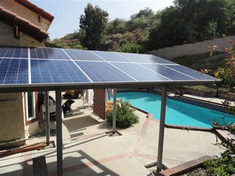 Solar Panel Pergola Multitasking Solar Panels Pinterest Solar Panel Pergola