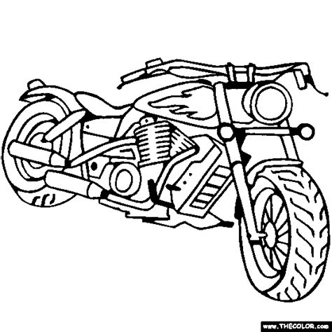 motorcycle coloring pages free chopper motorcycle coloring pages cars pinterest