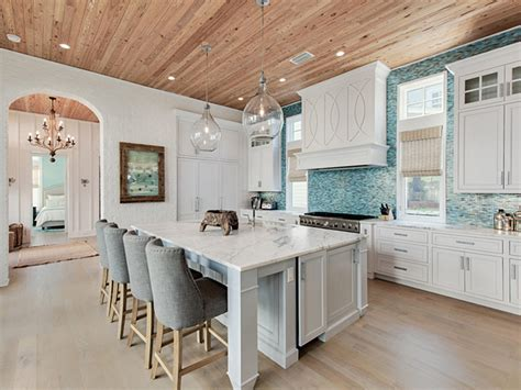 coastal kitchen mar turquoise backsplash ideas
