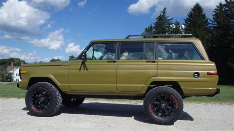 jeep amc 1986 amc jeep grand wagoneer t136 indy 2016