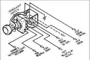 1967 camaro headlight switch wiring diagram php 1967