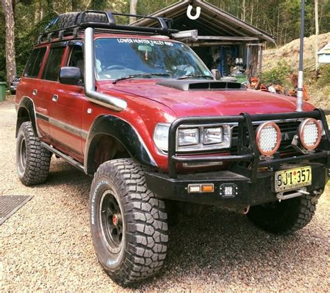 toyota land rover 1990 nathan s 1990 toyota landcruiser 80 series roader