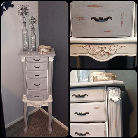 Painted Jewelry Armoire by Craigslist Rev With Sloan Chalk Paint