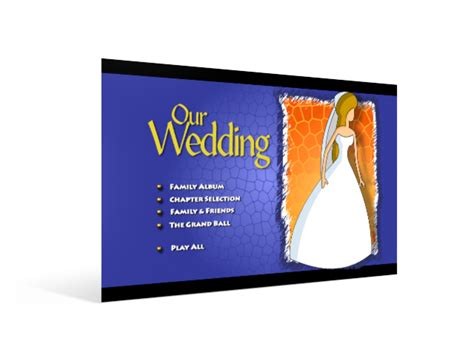 adobe encore dvd menu templates free yudavision productions announces collection one weddings