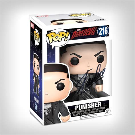 Original Funko Pop Marvel Daredevil Tv Series Punisher punisher daredevil tv series funko pop stan signed t touch of modern