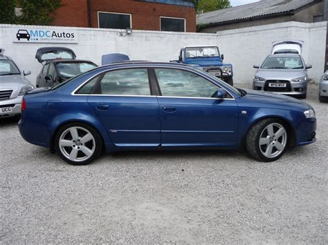 Audi A4 2 0 Tdi S Line by Audi A4 2 0 Tdi S Line Dpf 4dr Manual For Sale In Chorley