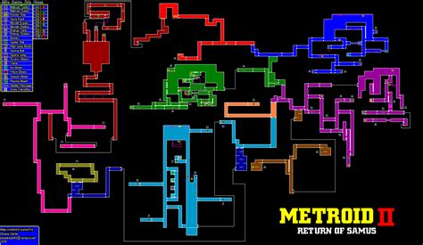 metroid map maps metroid metroid recon