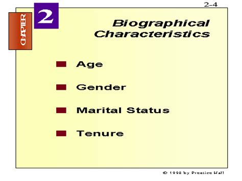 biography definition and characteristics biographical characteristics
