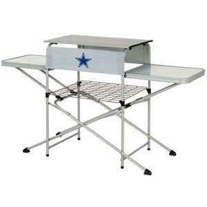 dallas cowboys folding table amazon com dallas cowboys nfl tailgating table by