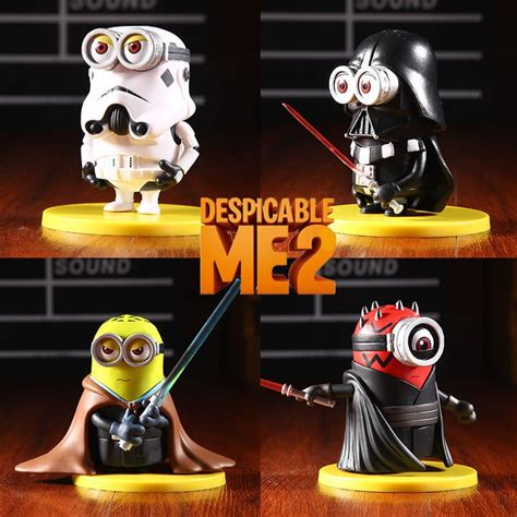 imagenes de minions star wars star wars minions figurines are exactly the bananas you re