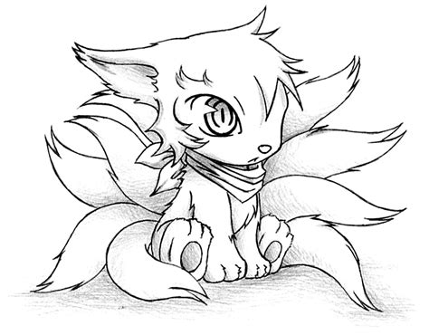 Anime Fox Coloring Pages Coloring Pages Anime Fox Coloring Pages