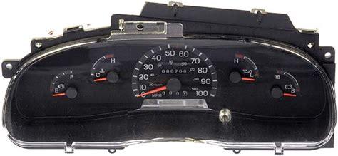 motor repair manual 1984 ford e250 instrument cluster 1997 ford e350 econoline van instrument cluster repair gas diesel
