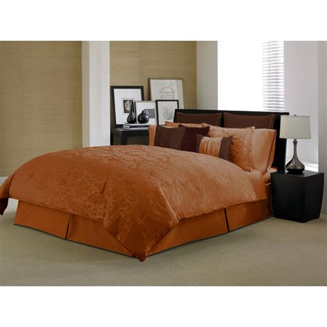 burnt orange comforter poll what color walls with burnt orange bedding weddingbee