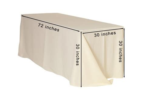 what size tablecloth for 6ft rectangle table how to choose tablecloths understanding correct
