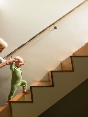 Going Up Stairs by When Should My Child Be Able To Go Up And Down Stairs