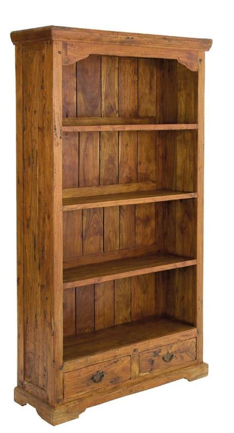 librerie rustiche libreria country legno massello librerie rustiche