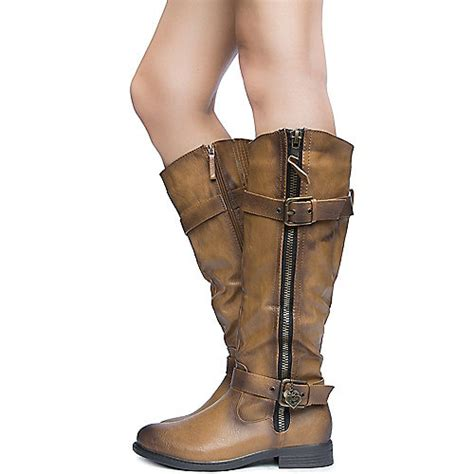 s knee high leather boot pita 18 shiekh shoes