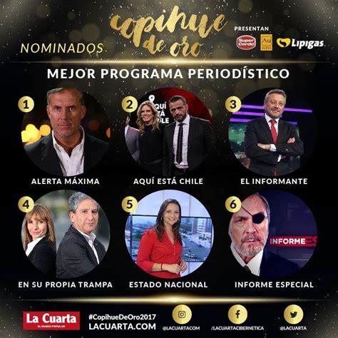 esta es la lista completa de nominados al oscar 2017 copihue de oro 2017 lista completa de nominados tele 13