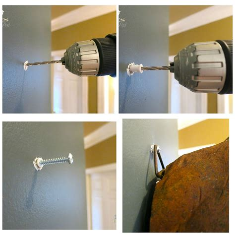 hang a picture how to hang a heavy mirror fountain hometalk how to hang something heavy when there is no