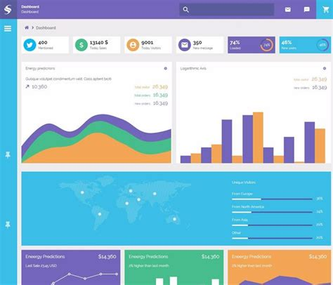 html css dashboard layout 26 best admin html templates images on pinterest
