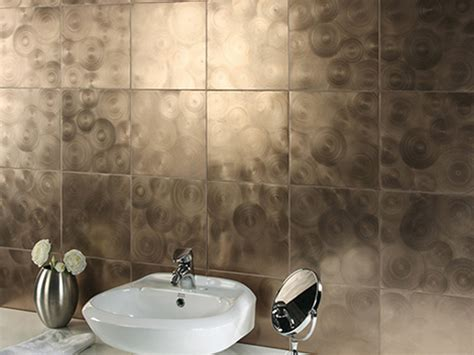 Bathroom Wall Tiles Design Ideas - unique bathroom tiles wall ideas with unique white sink