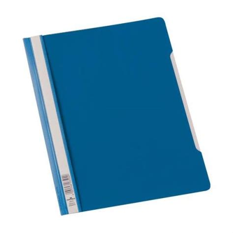 A4 Folder durable clear view a4 plastic folder plastic blue