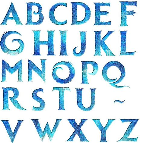 printable frozen font m 225 s de 25 ideas fant 225 sticas sobre fuentes disney en