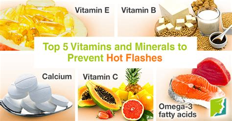 supplement flashes top 5 vitamins and minerals to prevent flashes