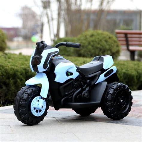 Elektro Motorrad Getriebe by Kinder Elektro Dreirad Motorrad 6v Elektro Motor Ebay