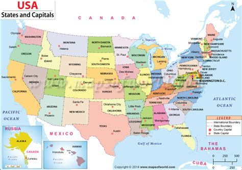 map of usa capitals buy us states and capitals map