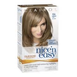 clairol color clairol n easy hair color 106 medium ash