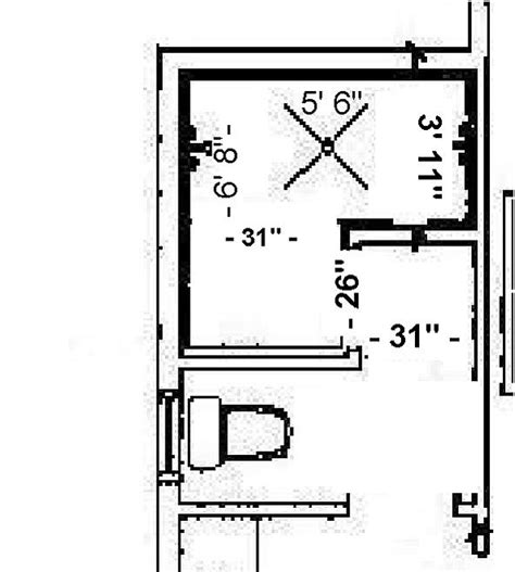 Walk In Shower Dimensions by Minimum Doorless Walk In Shower Dimensions Studio