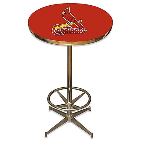 bed bath and beyond st louis mlb st louis cardinals pub table bed bath beyond