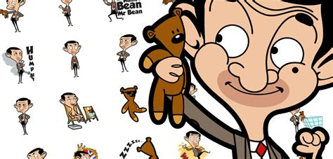 Mr Bean Line mr bean stickers arrived on imessage now