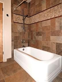 tile around tub bathrooms