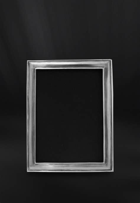 cornici portafoto design cornice portafoto rettangolare 10x15 in peltro made in italy