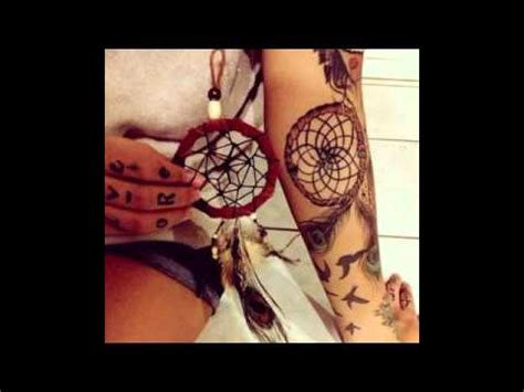 tattoo designs youtube dreamcatcher tattoo designs youtube